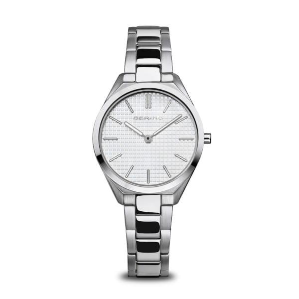 Ultra Slim | poleret/børstet sølv | 17231-700