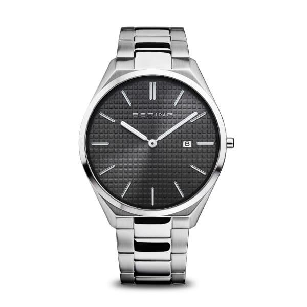Ultra Slim | poleret/børstet sølv | 17240-702
